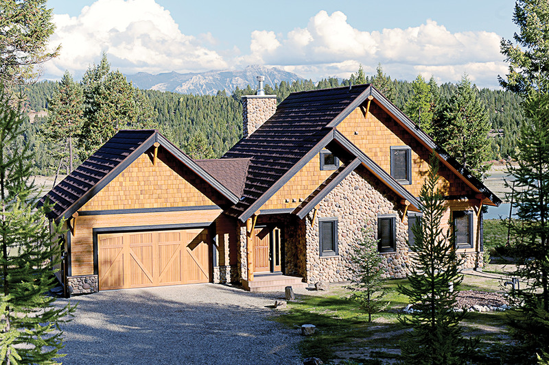Cottage house country house design elevation photo