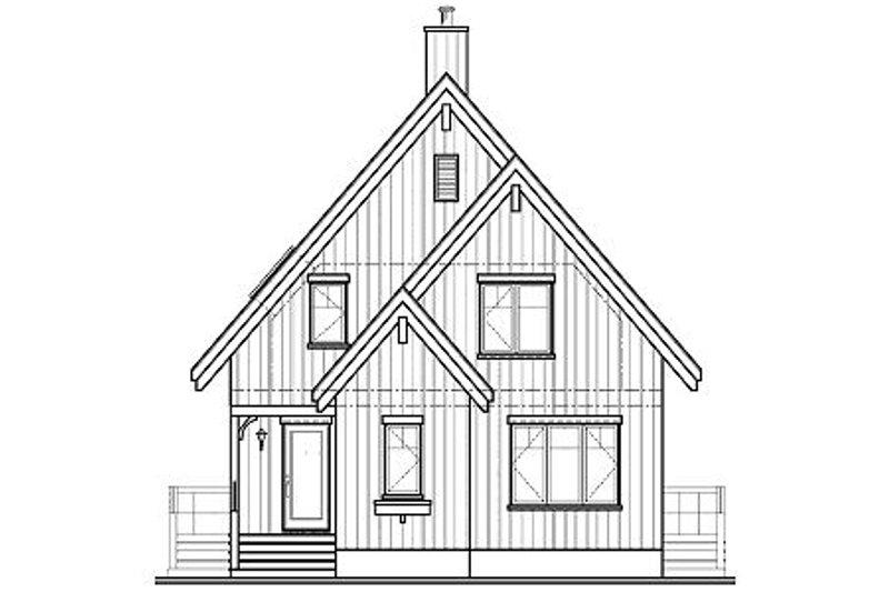 Cottage Exterior - Other Elevation Plan #23-670 - Houseplans.com
