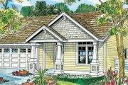 Craftsman Style House Plan - 3 Beds 2 Baths 1500 Sq/Ft Plan #124-747