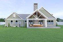 Craftsman Exterior - Rear Elevation Plan #1070-67