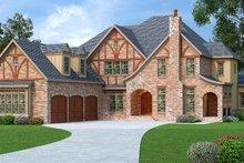 Home Plan - European Exterior - Front Elevation Plan #419-242
