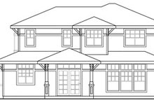 Traditional Exterior - Other Elevation Plan #124-465