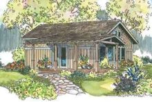 Craftsman Exterior - Front Elevation Plan #124-544