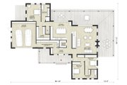Modern Style House Plan - 3 Beds 2.5 Baths 2754 Sq/Ft Plan #924-6 Floor Plan - Main Floor Plan