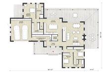 Modern Floor Plan - Main Floor Plan Plan #924-6