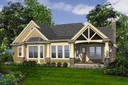 Craftsman Style House Plan - 2 Beds 2.5 Baths 2545 Sq/Ft Plan #132-230 Exterior - Rear Elevation