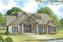 Dream House Plan - Craftsman Exterior - Front Elevation Plan #923-20