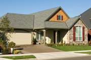 Farmhouse Style House Plan - 3 Beds 2 Baths 1802 Sq/Ft Plan #48-277 Exterior - Other Elevation
