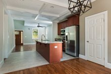 Dream House Plan - Cabin Interior - Dining Room Plan #79-192
