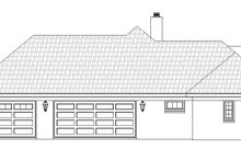 Dream House Plan - Traditional Exterior - Other Elevation Plan #932-104