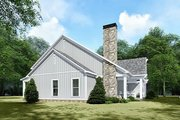 Country Style House Plan - 3 Beds 2.5 Baths 2031 Sq/Ft Plan #923-132 Exterior - Other Elevation