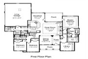 Bungalow Style House Plan - 3 Beds 2.5 Baths 2436 Sq/Ft Plan #46-479 Floor Plan - Main Floor