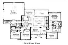 Bungalow Floor Plan - Main Floor Plan Plan #46-479