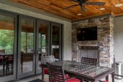 Craftsman Style House Plan - 4 Beds 2.5 Baths 2470 Sq/Ft Plan #17-3391 Exterior - Outdoor Living
