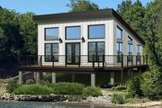 Modern Style House Plan - 1 Beds 1 Baths 750 Sq/Ft Plan #932-343