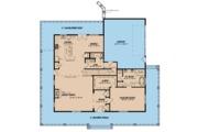 Farmhouse Style House Plan - 3 Beds 2.5 Baths 2711 Sq/Ft Plan #923-109 Floor Plan - Main Floor Plan