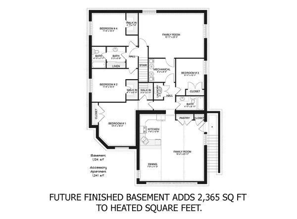 House Plan Design - Drawn with future finishing