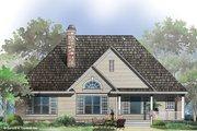 European Style House Plan - 3 Beds 2 Baths 1676 Sq/Ft Plan #929-53 Exterior - Rear Elevation