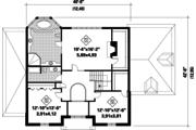 European Style House Plan - 3 Beds 2 Baths 2961 Sq/Ft Plan #25-4774 Floor Plan - Upper Floor Plan