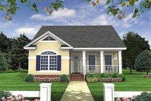 House Design - Cottage Exterior - Front Elevation Plan #21-222