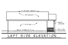 Cabin Exterior - Other Elevation Plan #20-2365
