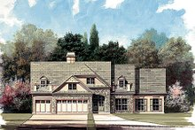 Traditional Exterior - Front Elevation Plan #119-131