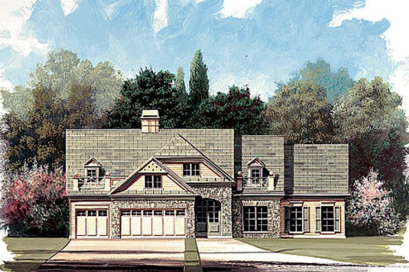 Traditional Style House Plan - 4 Beds 3 Baths 2845 Sq/Ft Plan #119-131