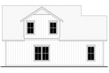 Farmhouse Exterior - Rear Elevation Plan #430-237