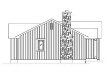 Dream House Plan - Cottage Exterior - Other Elevation Plan #22-589