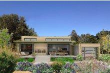 Modern Exterior - Front Elevation Plan #484-4