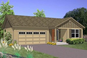 Traditional Exterior - Front Elevation Plan #116-267