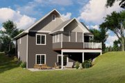 Craftsman Style House Plan - 2 Beds 1.5 Baths 1096 Sq/Ft Plan #1064-45