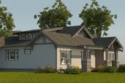 Craftsman Style House Plan - 3 Beds 2.5 Baths 2070 Sq/Ft Plan #895-9 Exterior - Other Elevation