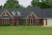 Southern Style House Plan - 3 Beds 3 Baths 3287 Sq/Ft Plan #81-1352 Exterior - Front Elevation
