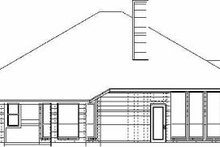 Traditional Exterior - Rear Elevation Plan #84-139