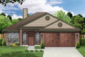 Traditional Exterior - Front Elevation Plan #84-326