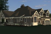 Craftsman Style House Plan - 4 Beds 3 Baths 2372 Sq/Ft Plan #51-572 Exterior - Other Elevation