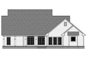 Country Style House Plan - 3 Beds 3.5 Baths 2164 Sq/Ft Plan #21-385 Exterior - Rear Elevation