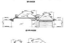 Home Plan Design - European Exterior - Rear Elevation Plan #36-128