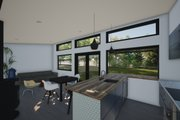 Modern Style House Plan - 2 Beds 2 Baths 550 Sq/Ft Plan #933-12 Interior - Kitchen