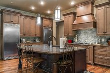 House Design - Craftsman Interior - Kitchen Plan #17-3391
