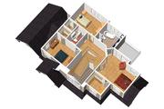 Traditional Style House Plan - 3 Beds 2 Baths 2130 Sq/Ft Plan #25-4716 Floor Plan - Upper Floor Plan