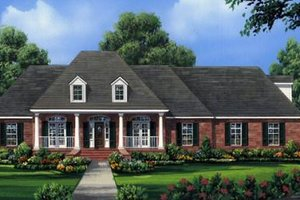 Traditional Exterior - Front Elevation Plan #21-273