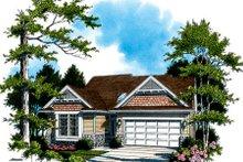 Dream House Plan - Craftsman Exterior - Front Elevation Plan #48-286