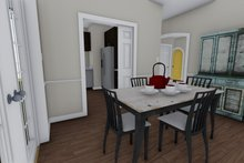 Home Plan - Ranch Interior - Dining Room Plan #1060-28