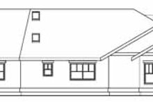 Dream House Plan - Ranch Exterior - Rear Elevation Plan #124-705
