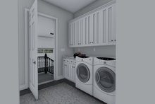 Dream House Plan - Ranch Interior - Laundry Plan #1060-99