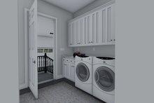 House Design - Ranch Interior - Laundry Plan #1060-99