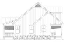 Dream House Plan - Farmhouse Exterior - Other Elevation Plan #932-345