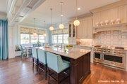 Craftsman Style House Plan - 5 Beds 4 Baths 3112 Sq/Ft Plan #929-839 Interior - Kitchen